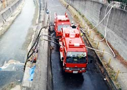 阪神大震災給水